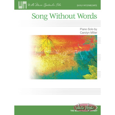 Song Without Words     Early Intermediate Sheet