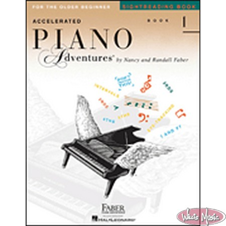 Accelerated Piano Adventures: Sightreading Book 1  FOR OLDER BEGINNER