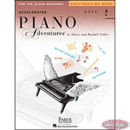 Accelerated Piano Adventures Sightreading Book 2  For Older Beginner