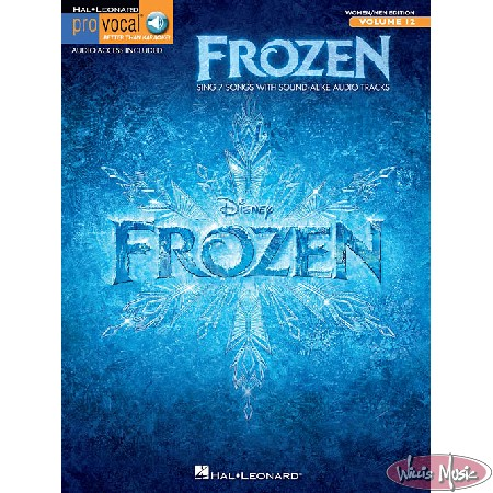 Frozen, Pro Vocal Mixed Edition Volume 12