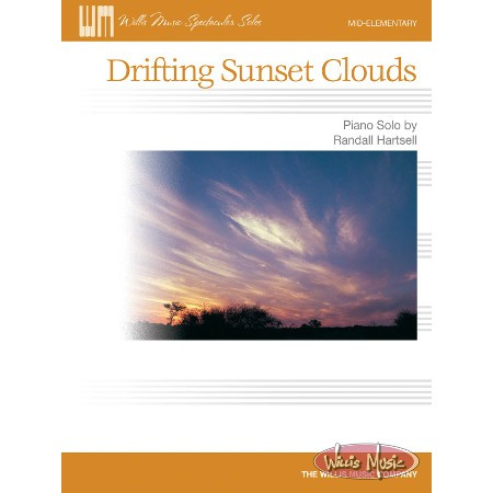 Drifting Sunset Clouds     Mid-Elementary