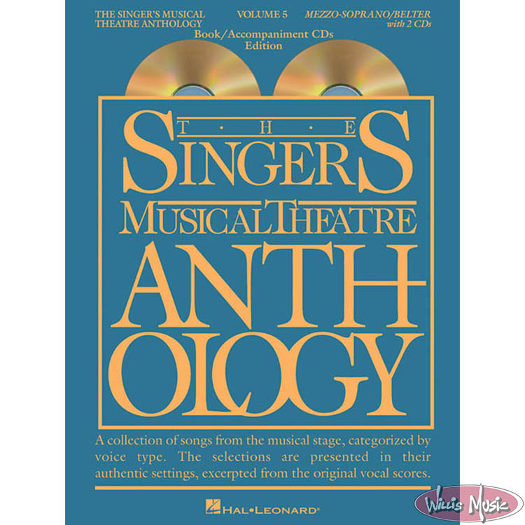 The Singer's Musical Theatre Anthology Vol 5 Mezzo-Sop  with Online Audio