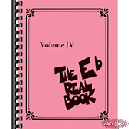 The Eb Real  Book - Volume IV