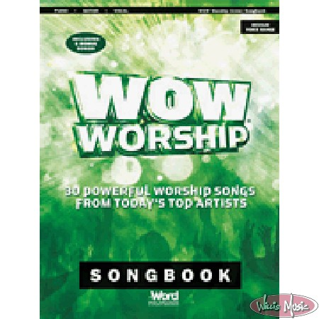 WOW Worship 2014 Songbook (Green)