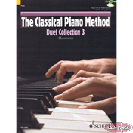 Classical Piano Method Duet Collection 3  Bk & CD