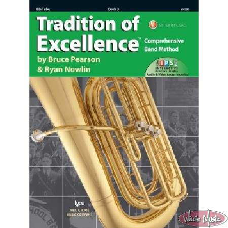 Tradition Of Excellence Book 3 Bb Tuba