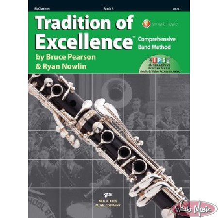 Tradition Of Excellence Book 3 Bb Clarinet