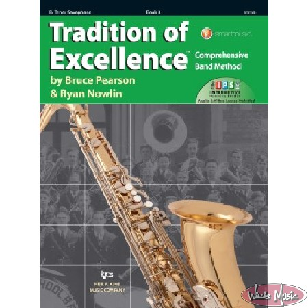 Tradition Of Excellence Book 3 Bb Tenor Saxophone