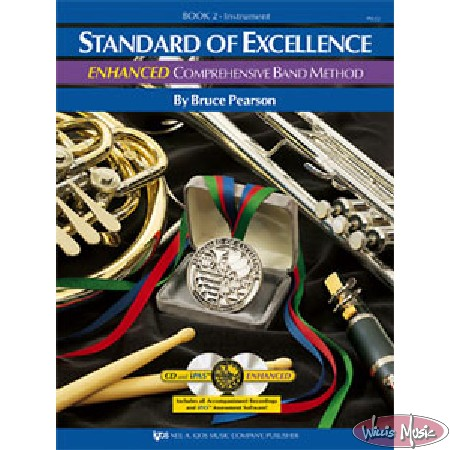 Standard Of Excellence Enhanced Book 2 Baritone BC