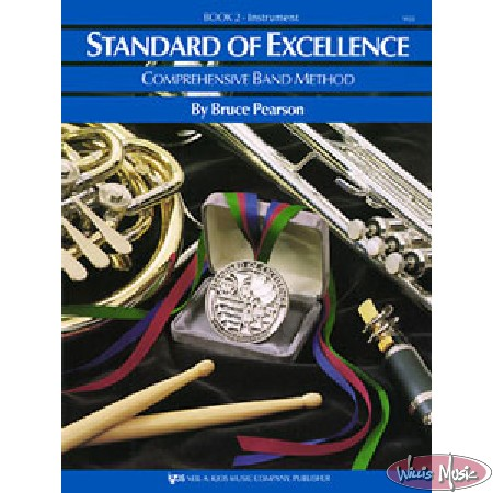 Standard Of Excellence Comprehensive Book 2 Drums & Mallet Percussion