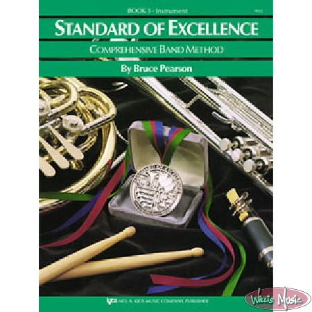 Standard Of Excellence Comprehensive Book 3 Bass Clarinet