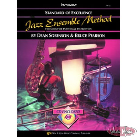 Jazz Ensmbl Mthd Vibes & Aux P Standard Of Excellence BK & CD