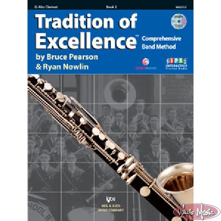 Tradition Of Excellence Book 2 Eb Alto Clarinet