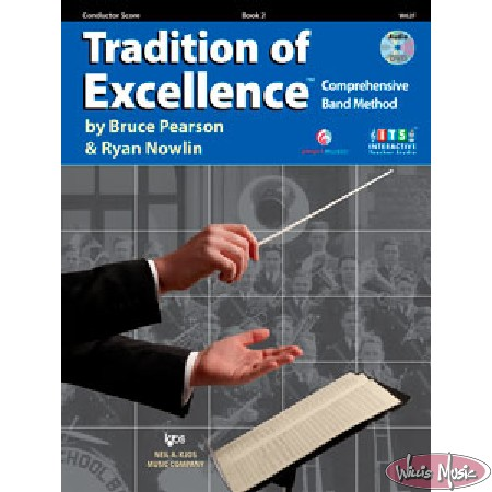 Tradition of Excellence, Book 2 Conductor Score & DVD