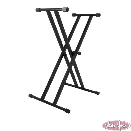 On Stage Double X Stand Keyboard Stand