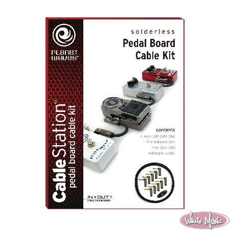 Planet Waves Pedal Patch Kit Pedal Board Cable Kit