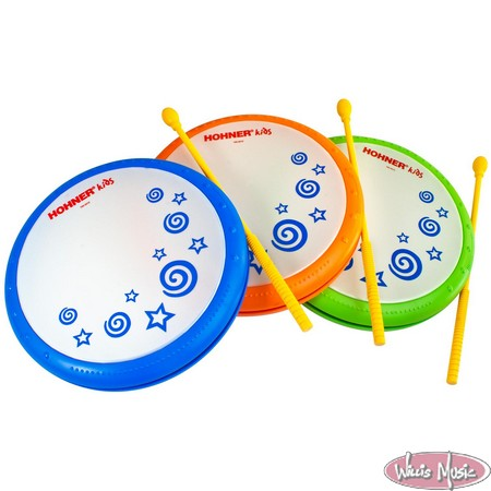 Hohner Hand Drum W/ Mallet Assorted Colors
