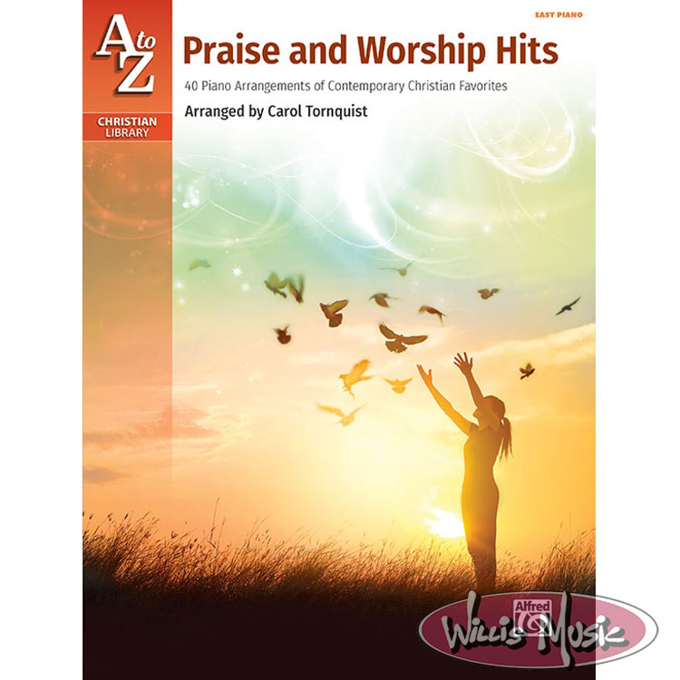 A To Z Praise And Worship Hits  Easy Piano Book