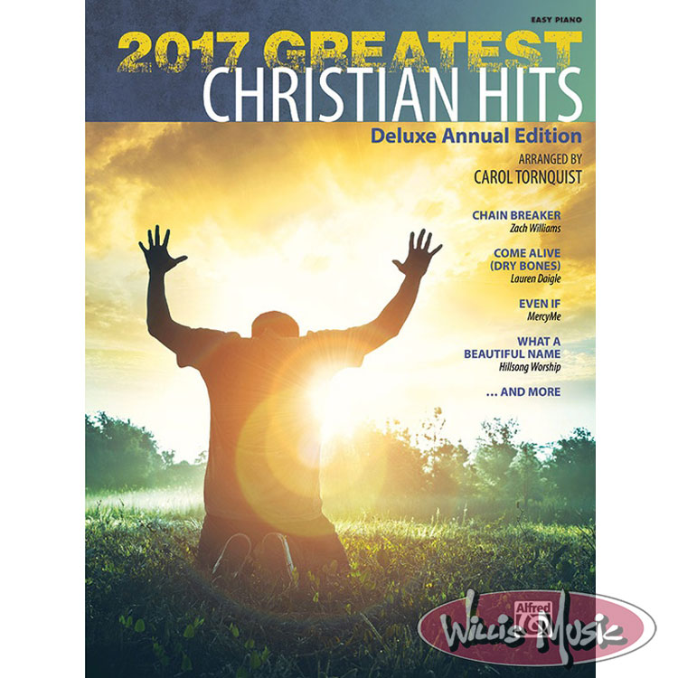 2017 Greatest Christian Hits  -  Easy Piano Book