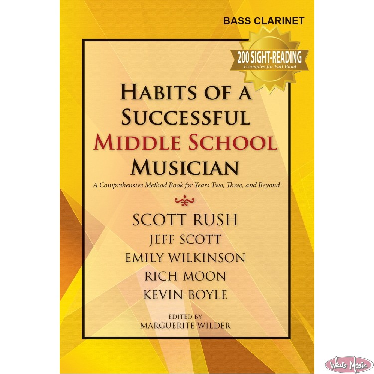 Habits of a Successful Middle School Musician - Bass Clarinet
