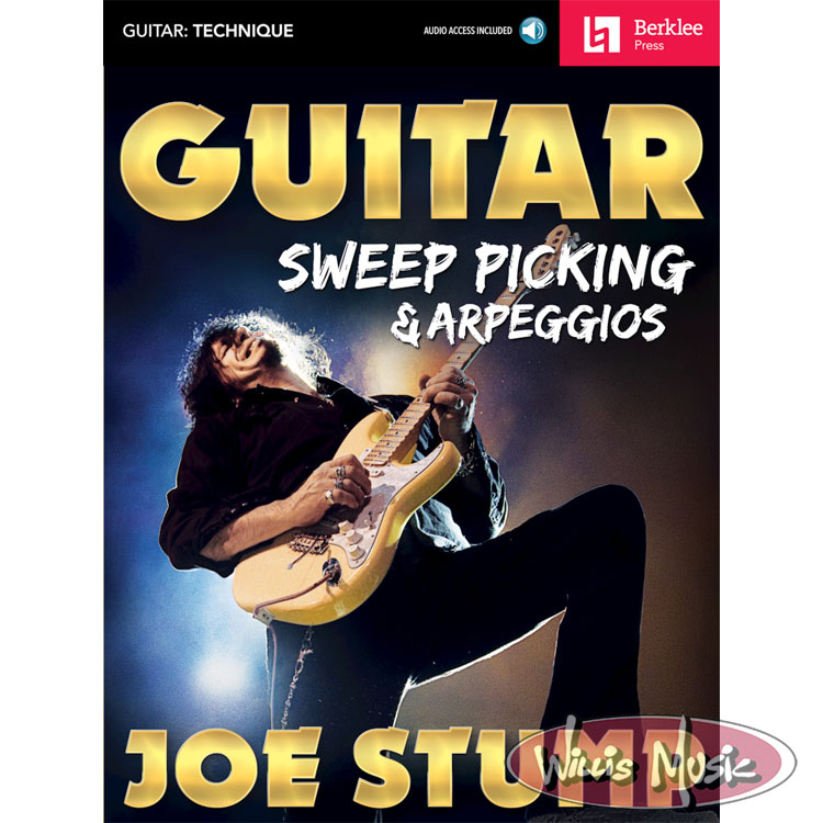 Guitar Sweep Picking & Arpeggios - with Audio Access