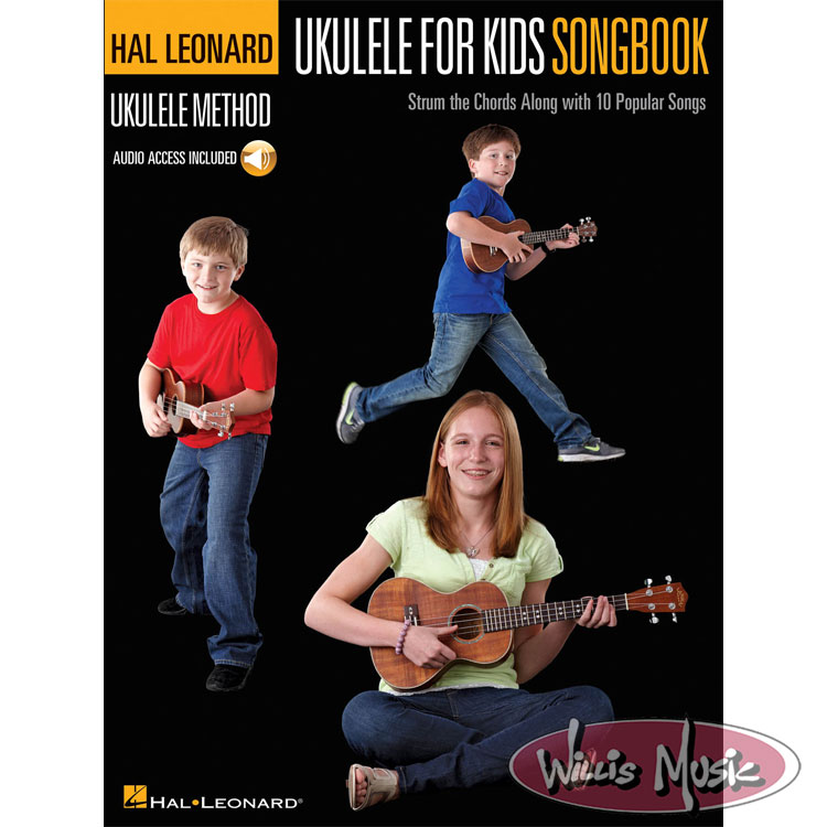 Ukulele For Kids Songbook  with Audio Access