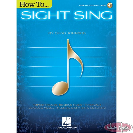 How to Sight Sing   - Audio Access Included