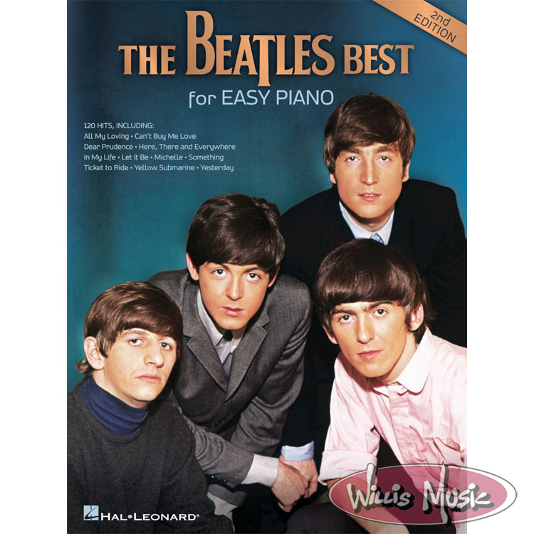 The Beatles Best For Easy Piano     2nd Edition
