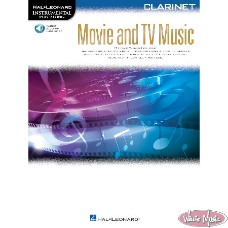 Movie And TV Music - Clarinet Book with Audio Access