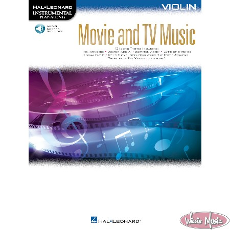 Movie And TV Music - Violin Book with Audio Access