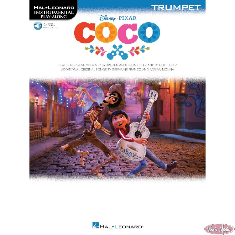 Coco   Trumpet Book with Audio Access