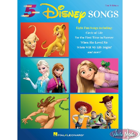 Disney Songs 2nd Edition  5 Finger Piano