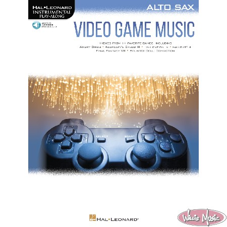 Video Game Music - Alto Sax Book with Audio Access
