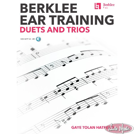 Berklee Ear Training  Duets And Trios Book with Audio Access