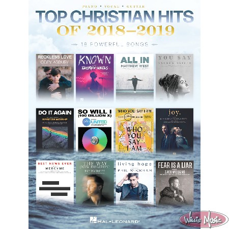 Top Christian Hits Of 2018 - 2019     Piano/Vocal/Guitar Book