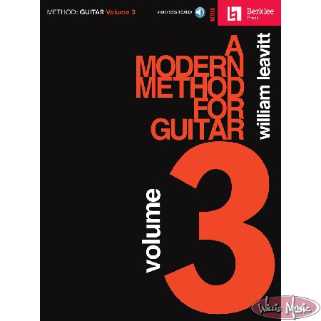 Modern Method For Guitar Volume 3  with Audio Access