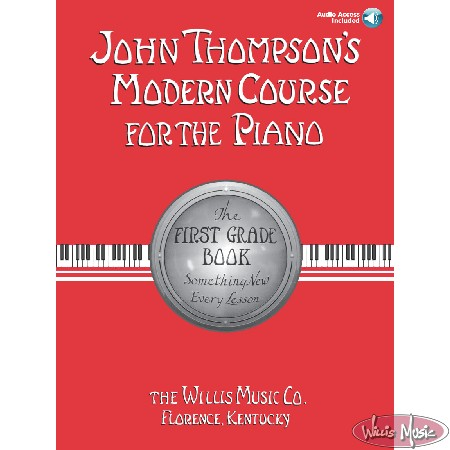 John Thompson's Modern Course for the Piano - First Grade  Online Access