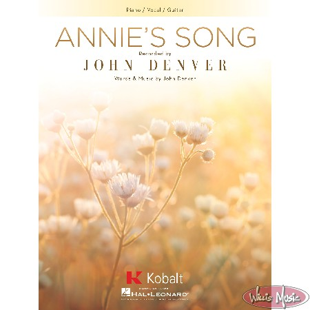 Annie's Song    Piano/Vocal/Guitar Sheet