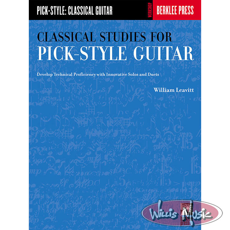 Classical Studies for Pick Style Guitar: Volume 1