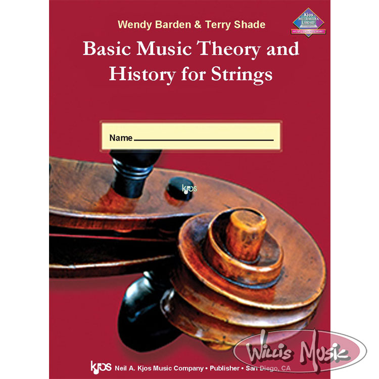 Basic Music Theory and History for Strings, Workbook 1 Violin