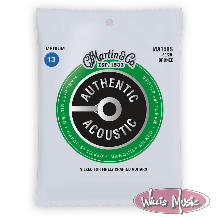Martin Authentic Acoustic Marquis Silked Medium Strings 13 - 56