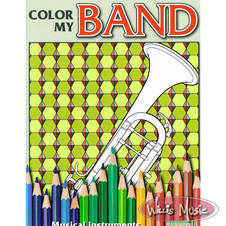 Color My Band   -  Coloring Book