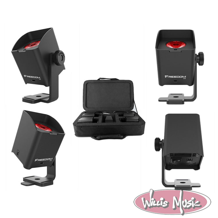 Chauvet Freedom H1 X4 Pack of 4 Battery Lights