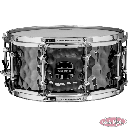 Mapex Armory Snare Drum Daisy Cutter 14x6.5 Hammered Steel