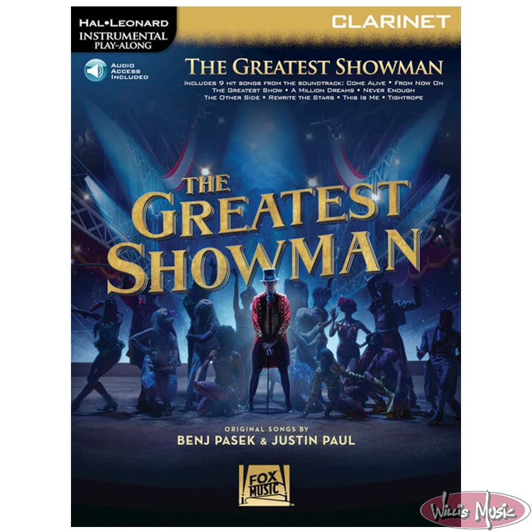 Greatest Showman - Clarinet Book with Audio Access