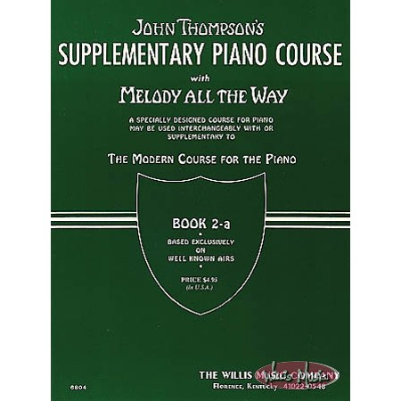 Melody All the Way - Book 2a