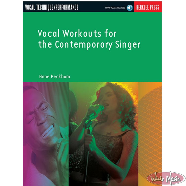 Vocal Workouts for the Contemporary Singer  with Online Access