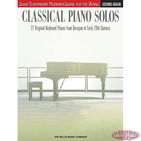 Classical Piano Solos Second Grade John Thompsons Modern Course