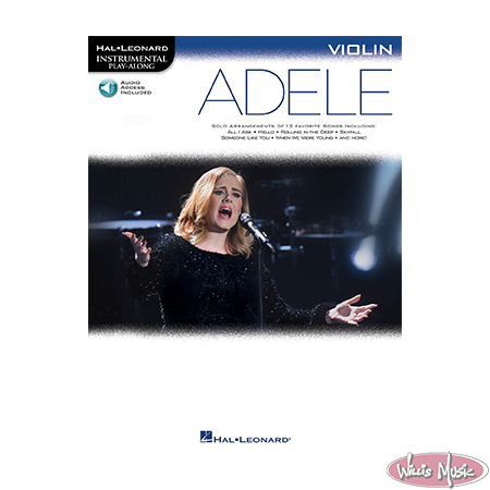 Adele Violin Book With Play Along Audio Access