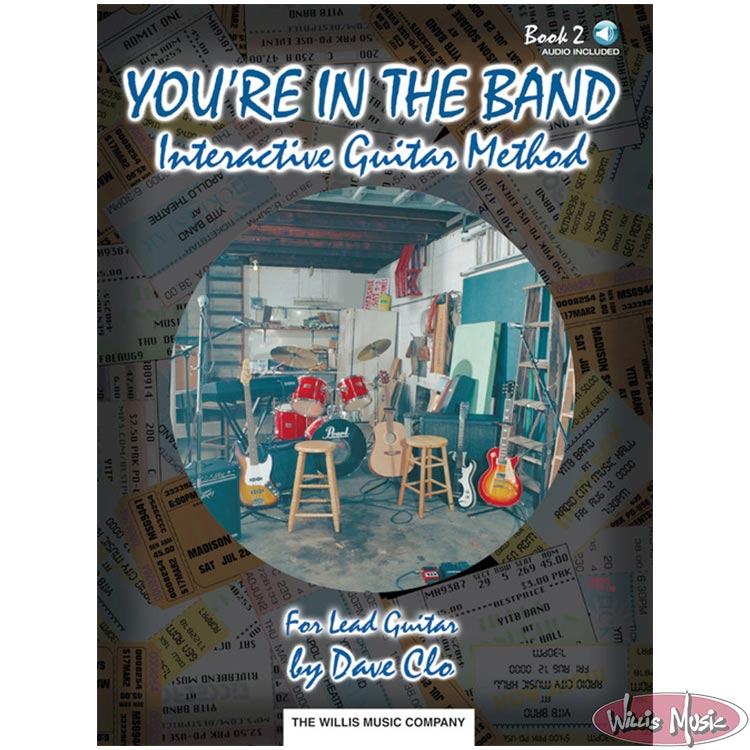 You're in the Band - Interactive Guitar Method Book 2  Audio Included